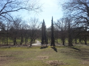 Hügel im Volkspark Rehberge